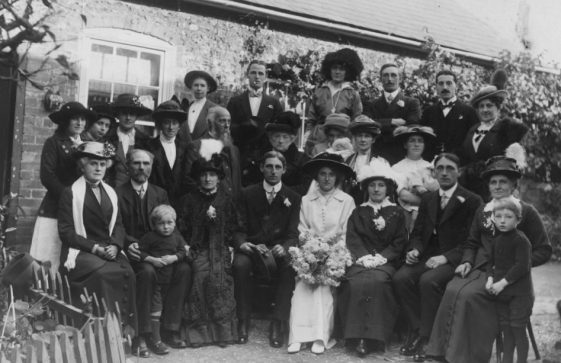 Winn family wedding photograph