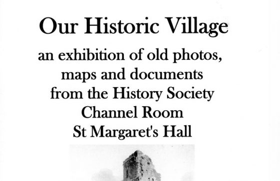 Poster advertising a History Society exhibition for the Jubilee of 2012
