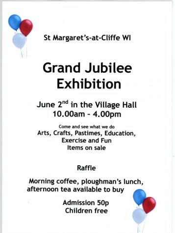 WI Grand Jubilee Exhibition on 2nd June 2012 in Village Hall
