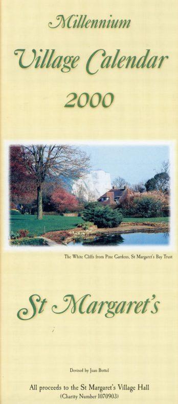 St Margaret's Millenium Village Calendar sold in aid of the Village Hall. 2000