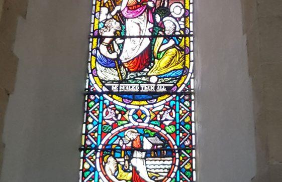 Memorial Window to LOUD Georgianna Hester