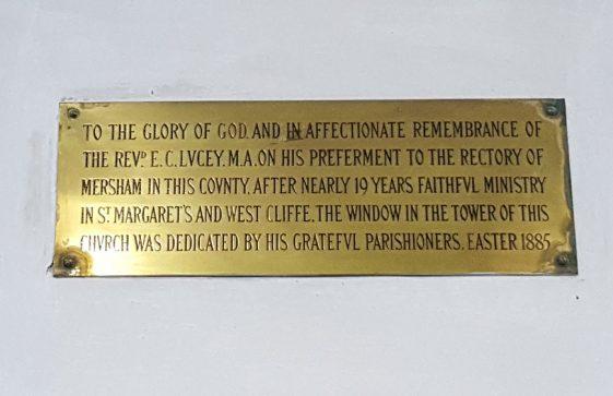 Memorial to LUCEY Rev EC
