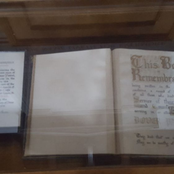 War Memorials and Books of Remembrance in St Margaret's Church | Dawn Sedgwick