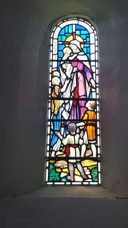 Memorial Window given by Violet McCredie | Dawn Sedgwick