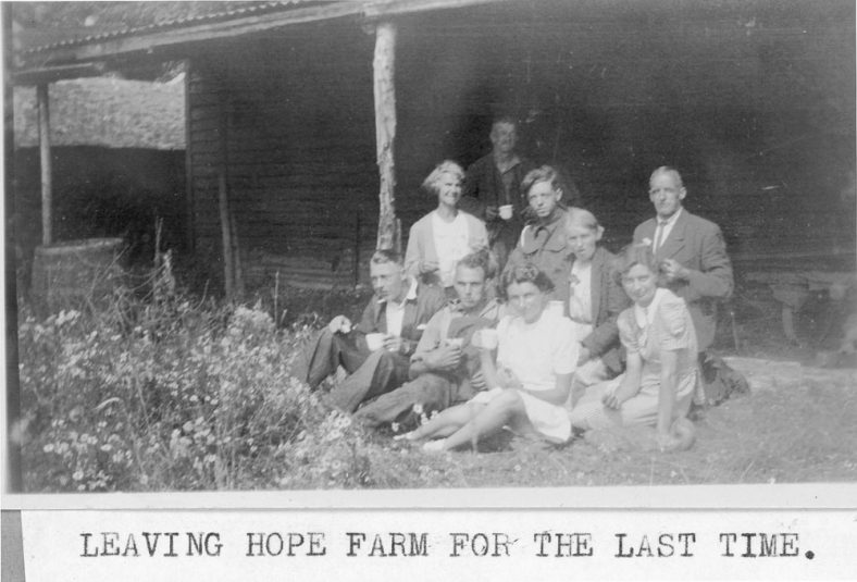 Leaving Hope Farm for the last time