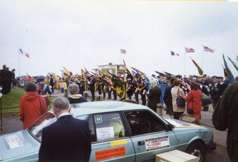 78th Dover Patrol Memorial Service. 1999