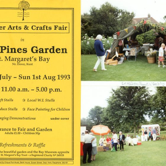 Arts and Crafts Fair held in the Pines Gardens. August 1993