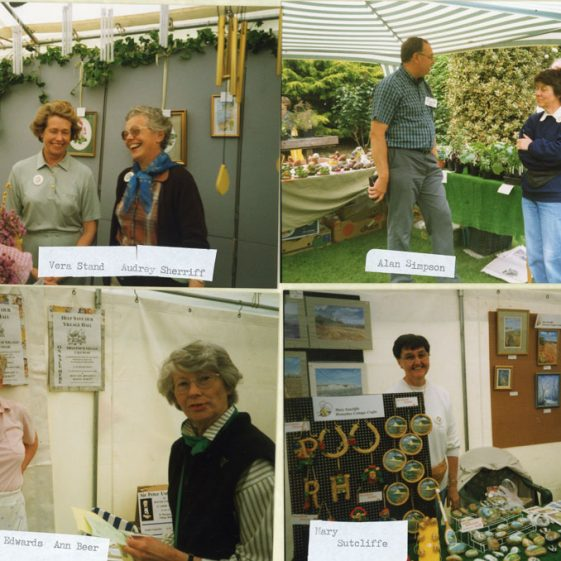 Visit to Pines Gardens, St Margaret's Bay, by Alan Titchmarsh 12/06/1999