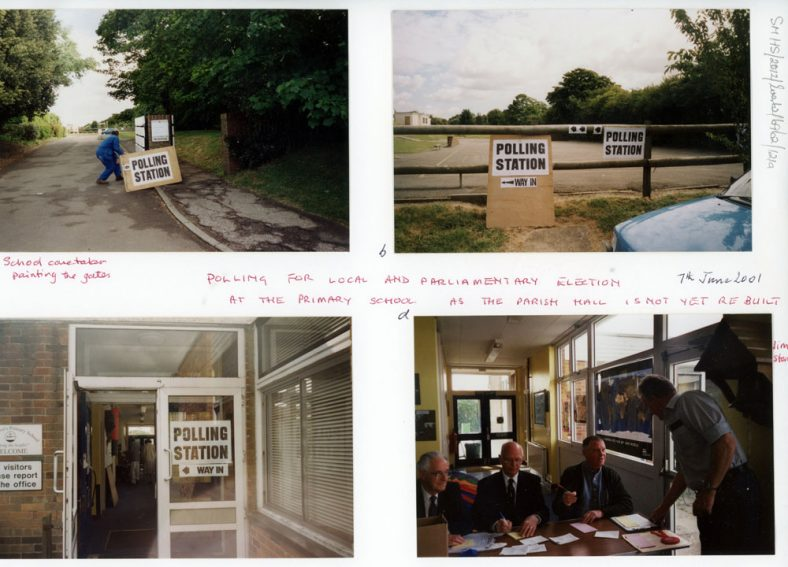 Polling Day using the Primary School 07/06/2001