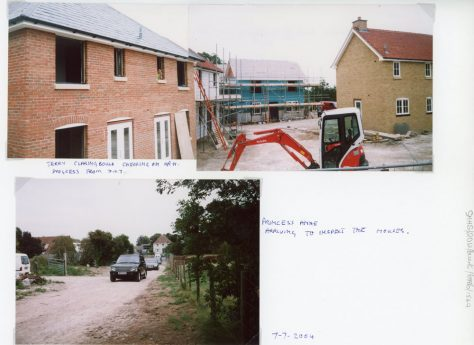 Visit by Princess Anne on 7th June 2004 to the affordable housing at Ash Grove