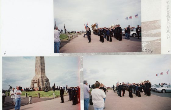 83rd Dover Patrol Memorial Service. 25th July 2004