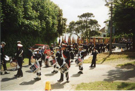 79th Dover Patrol Memorial Service. 11 June 2000