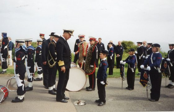 79th Dover Patrol Memorial Service. 11 June 2000