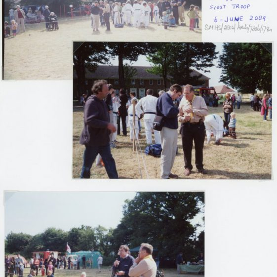Scout's Fete held in the Glebe Field on the 6th June 2009