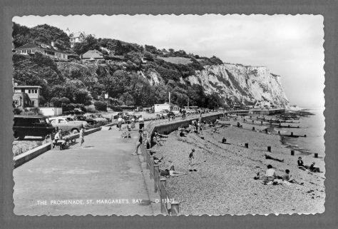 The Promenade, St Margaret's Bay; The Green Man. 1950s