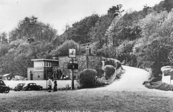The Green Man St Margaret's Bay. c1955