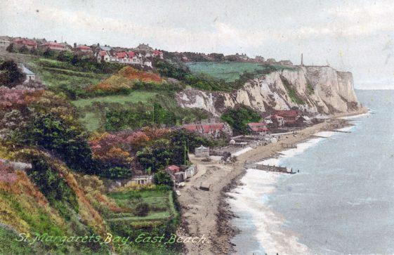 St Margaret's Bay from Ness Point. postmark 1924
