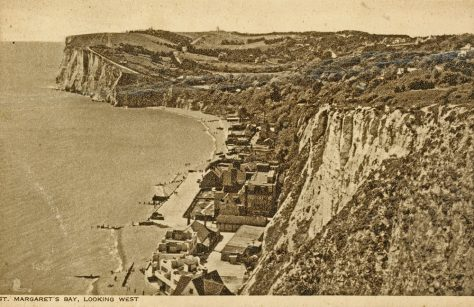St Margaret's Bay from The Leas. pre 1939