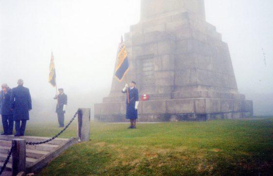 Dover Patrol Memorial Service 11 November 2004