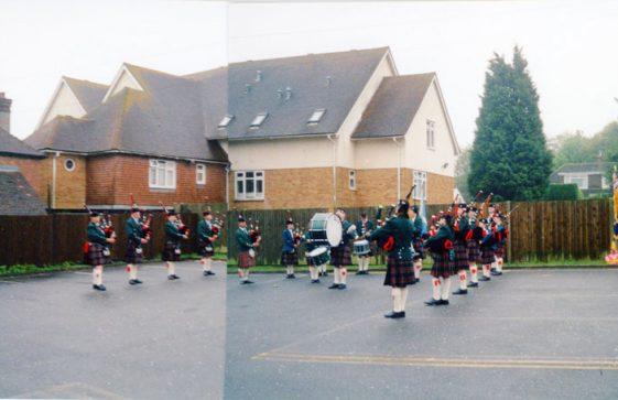 70th Dover Patrol Memorial Service. 1991