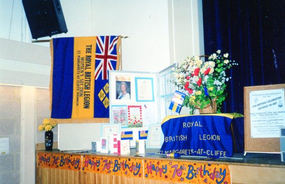 Royal British Legion Seventieth Anniversary Celebration at Parish Hall. 8 May 2004