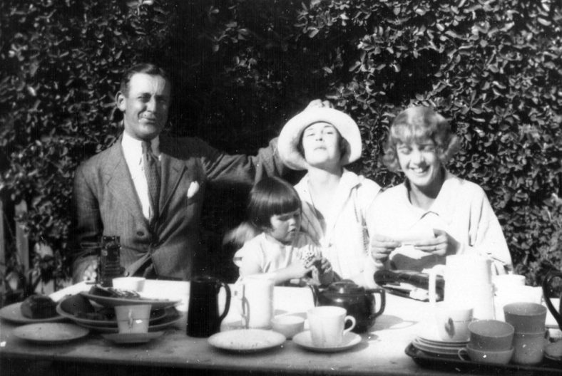 Taking tea at the Excelsior Tea Rooms. Late 1920s