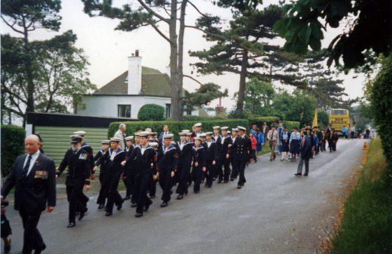 66th Dover Patrol Memorial Service. 1987