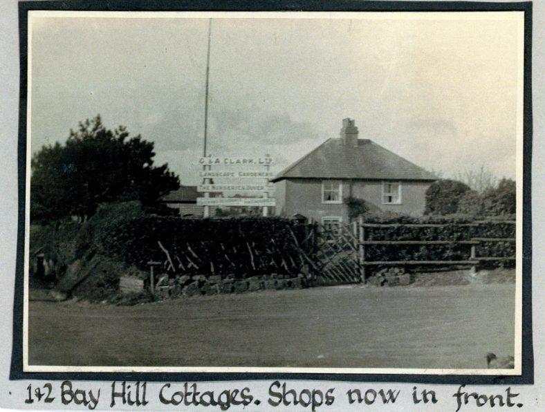 Nos 1 and 2 Bay Hill Cottages. c1920