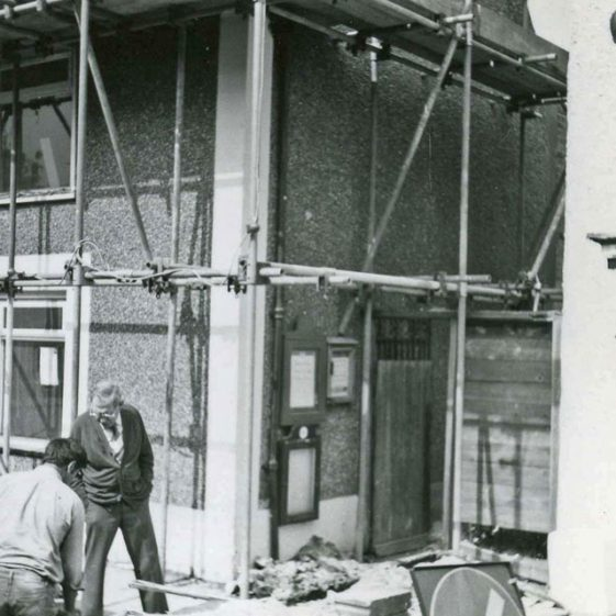 Repairs and alterations to the Post Office building High Street. 1984