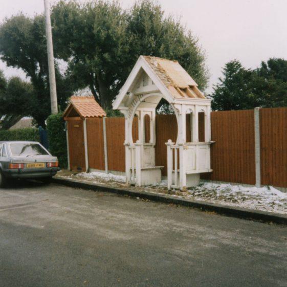Granville Hotel, Hotel Road: Derelict. February 1996