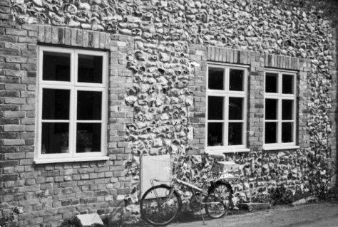 Chapel Cottages, Chapel Lane. 11 April 1984