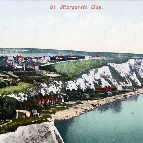 St Margaret's Bay from Ness Point postmark 1911; Shakespeare Cliff. Dover postmark 1911.