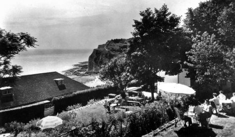 The Tea Gardens at Villa Gris Nez, Bay Hill. 1960's