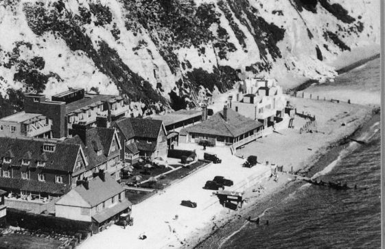 Aerial view of St Margaret's Bay Hotel. c1938