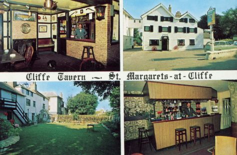 Cliffe Tavern, High Street, trading postcard. 1973