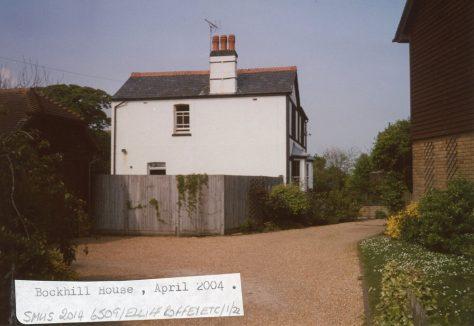 Bockhill House, Chapel Lane. 2004