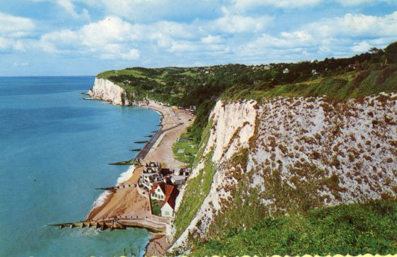 St Margaret's Bay from The Leas. 1960s