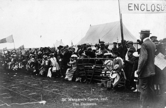 The Enclosure at St Margaret's Sports Day. 1908