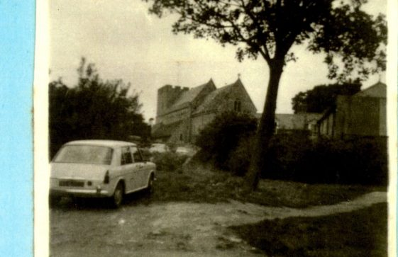 Site of the Old Parsonage Farm House, Reach Road. 1960s.