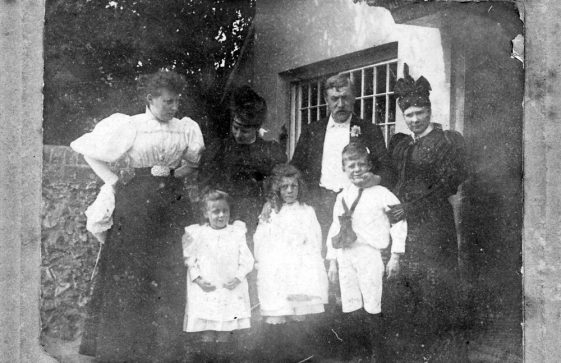 Family group photograph. c1906