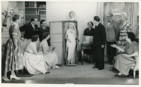 Scene from an unidentified St Margaret's Players production.