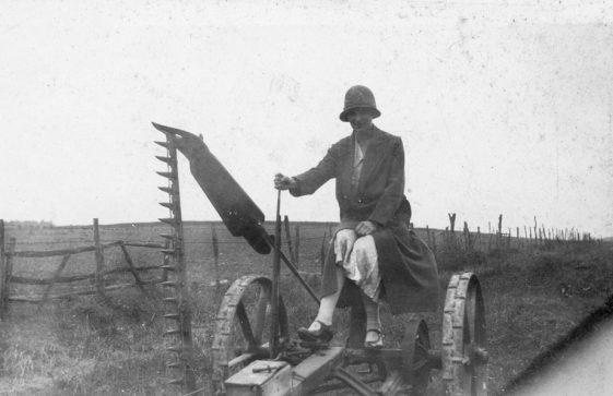 Bockhill Farm: Kathleen. c.1920/30