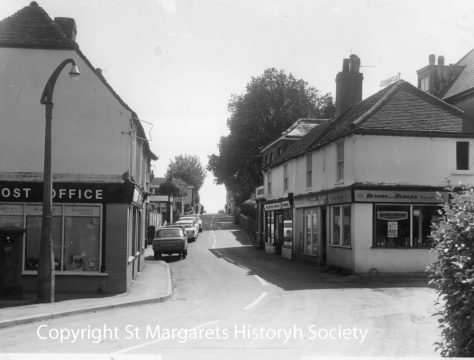 High Street with Post Office and Village Shop. c1970