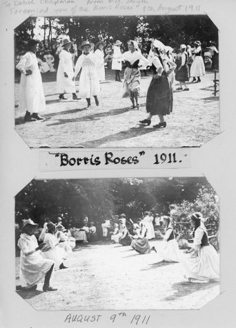 The Borris Roses dance troupe  August 1911