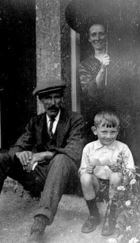 Alice Newman, Gran's father, and Charlie Croucher