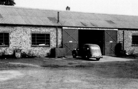 The workshop at Street Farm Garage