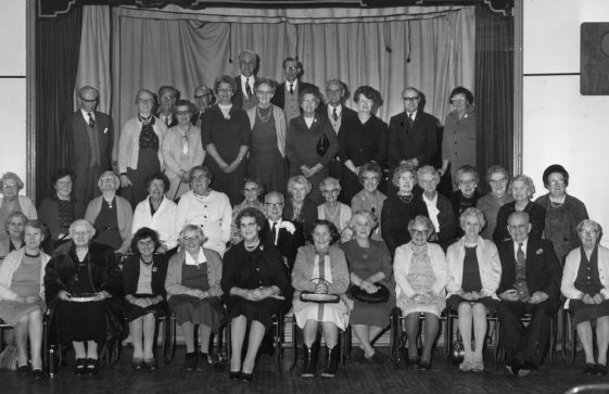 Over 60s Club with many names, date unknown
