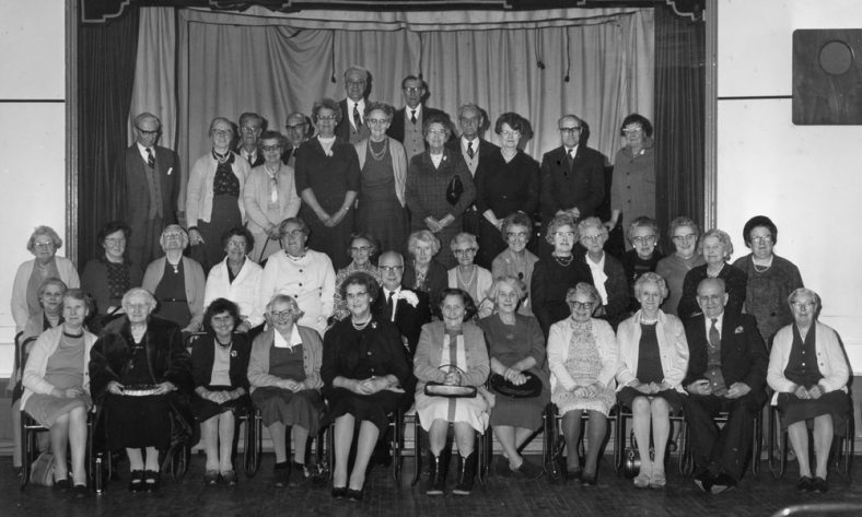 Over 60s Club. date unknown