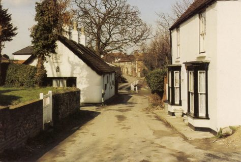 Cliffe Lodge and The Cottage, Chapel Lane. c2000