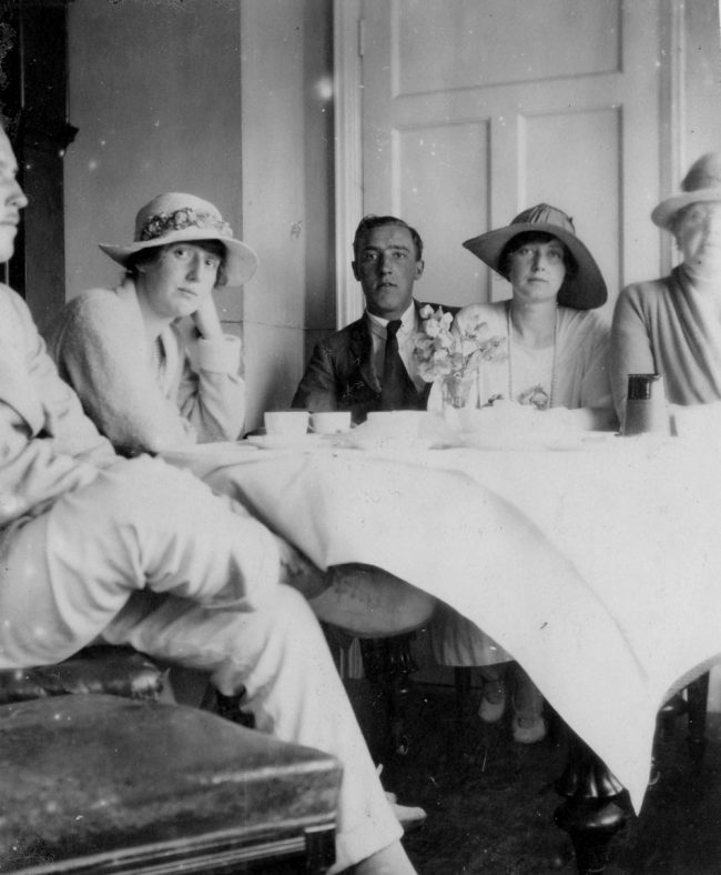 Tea party at the Granville Hotel. c1916/17